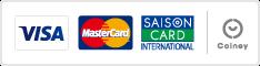 ご利用可能なクレジットカードの種類|VISA・MASTERがご利用いただけます。JCBはセゾンカードのみご利用可能